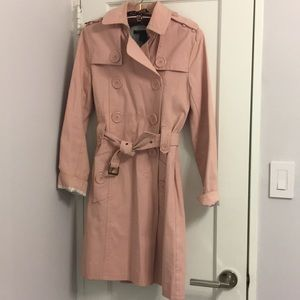 Marc Jacobs Light Pink Trench Coat size Small